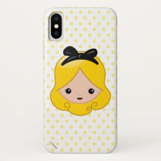 Alice in Wonderland | Alice Emoji iPhone X Case