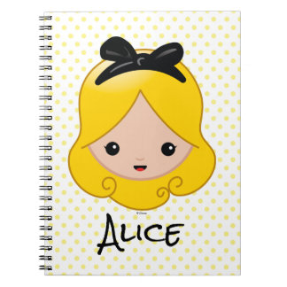 Alice in Wonderland | Alice Emoji Note Books