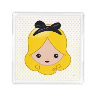 Alice in Wonderland | Alice Emoji Serving Tray