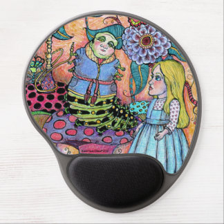 Alice in Wonderland, Alice Meets the Caterpillar Gel Mouse Pad