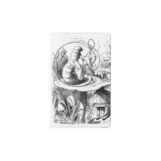 Alice In Wonderland - Alice Meets the Caterpillar Pocket Moleskine Notebook