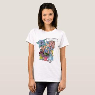 Alice in Wonderland, Alice Meets the Caterpillar T-Shirt