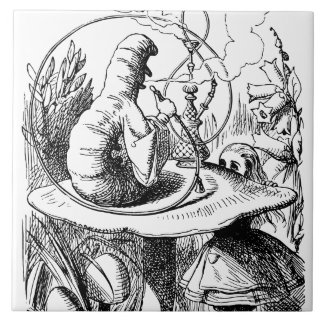 Alice In Wonderland - Alice Meets the Caterpillar Tile