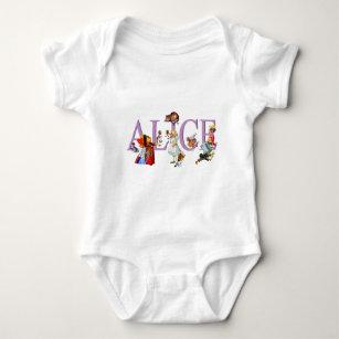 Alice In Wonderland Baby Clothes Apparel Zazzle Ca