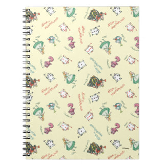 Alice In Wonderland and Friends | Pattern Note Book