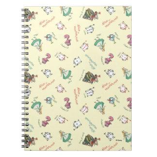 Alice In Wonderland and Friends | Pattern Notebook