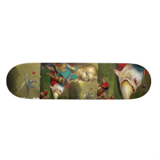 Alice in Wonderland and the Bosch Birds SKATEBOARD