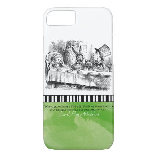 ALICE IN WONDERLAND APPLE IPHONE CASE ART