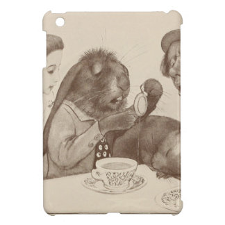 Alice in Wonderland, at the Tea Table iPad Mini Cover