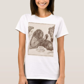 Alice in Wonderland, at the Tea Table T-Shirt