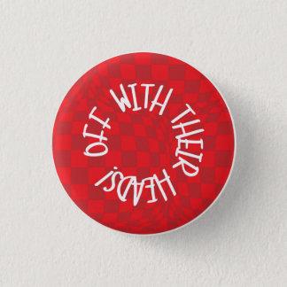 Alice in Wonderland - Badge  - Queen of Heart 1 Inch Round Button
