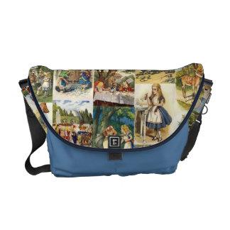 Alice in Wonderland Bag Courier Bag