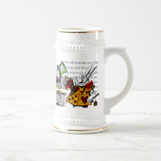 Alice in Wonderland Beer Stein