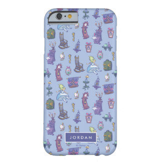Alice In Wonderland | Blue Pattern - Add Your Name Barely There iPhone 6 Case