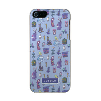 Alice In Wonderland | Blue Pattern - Add Your Name Incipio Feather® Shine iPhone 5 Case