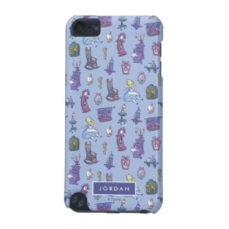 Alice In Wonderland | Blue Pattern - Add Your Name iPod Touch (5th Generation) Case
