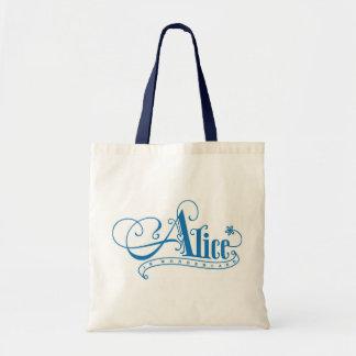 Alice in Wonderland Book Bag