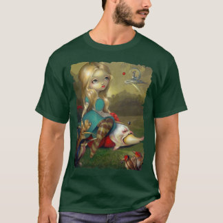 Alice in Wonderland Bosch Birds SHIRT lowbrow goth