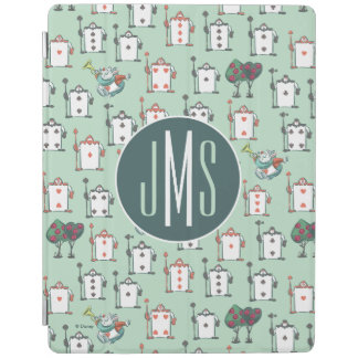 Alice In Wonderland | Card Soldiers - Monogram iPad Cover