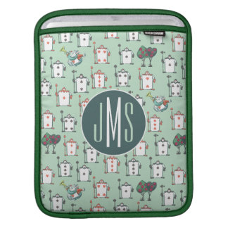 Alice In Wonderland | Card Soldiers - Monogram iPad Sleeve