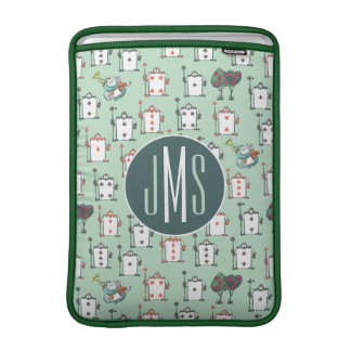 Alice In Wonderland | Card Soldiers - Monogram Sleeve For MacBook Air