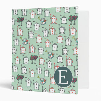 Alice In Wonderland | Card Soldiers - Monogram Vinyl Binders