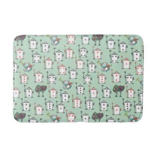 Alice In Wonderland   Card Soldiers Pattern Bath Mat