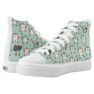 Alice In Wonderland | Card Soldiers Pattern High Tops