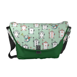 Alice In Wonderland | Card Soldiers Pattern Messenger Bag