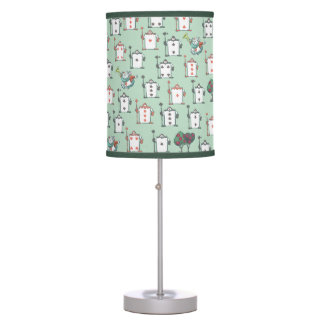 Alice In Wonderland | Card Soldiers Pattern Table Lamp