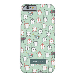 Alice In Wonderland | Card Soldiers - Your Name Barely There iPhone 6 Case