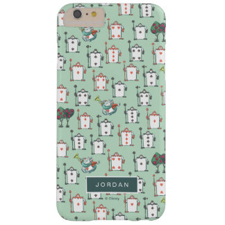 Alice In Wonderland | Card Soldiers - Your Name Barely There iPhone 6 Plus Case