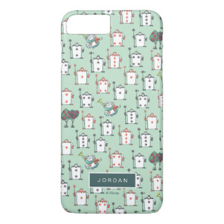 Alice In Wonderland | Card Soldiers - Your Name iPhone 7 Plus Case