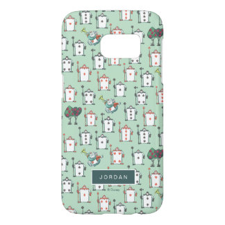 Alice In Wonderland | Card Soldiers - Your Name Samsung Galaxy S7 Case