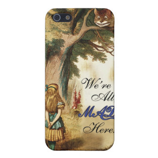 Alice in Wonderland Case For iPhone 5/5S