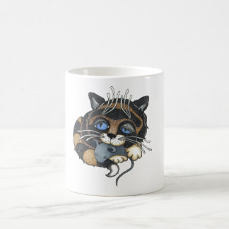 Alice In Wonderland Cat White 11 oz Classic Mug