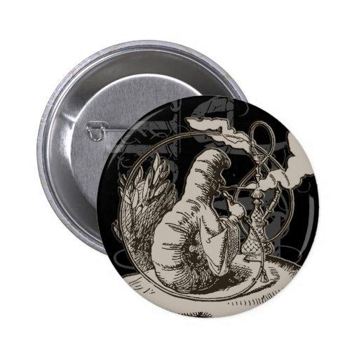Alice In Wonderland Caterpillar Grunge (Single) Pins