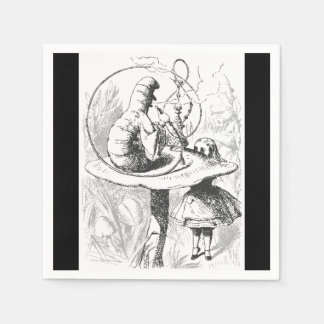 Alice in Wonderland Caterpillar Paper Napkins