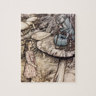 Alice in Wonderland Caterpillar Puzzle