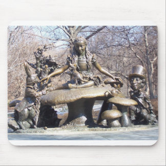 Alice in Wonderland Central Park Mouse Pad