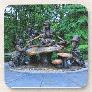 Alice in Wonderland - Central Park NYC #2 Beverage Coaster
