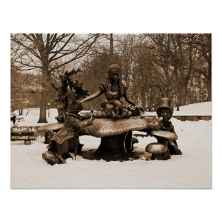 Alice in Wonderland – Central Park Poster