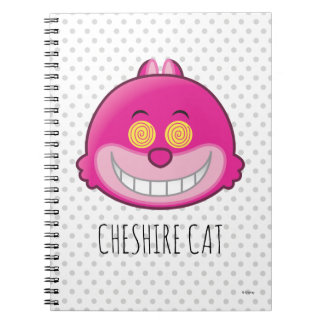 Alice in Wonderland | Cheshire Cat Emoji Spiral Notebook