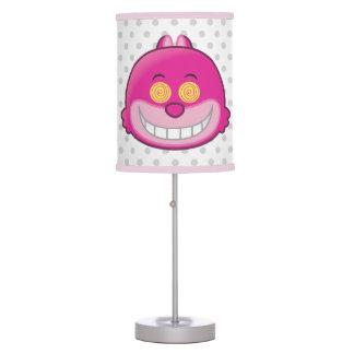Alice in Wonderland | Cheshire Cat Emoji Table Lamps