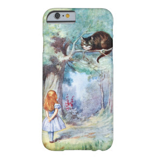Alice in Wonderland Cheshire Cat iPhone 6 case Barely There iPhone 6 Case