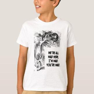 Alice in Wonderland Cheshire Cat Items T-Shirt