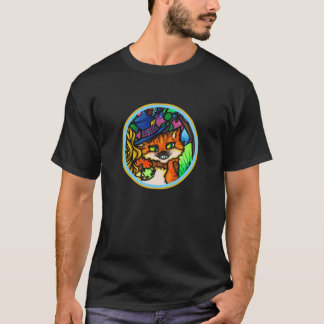 Alice in Wonderland Cheshire Cat Poker Player T-Shirt