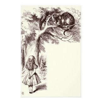 Alice in Wonderland | Cheshire Cat Smile Stationery