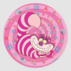 Alice in Wonderland | Cheshire Cat Smiling Classic Round Sticker