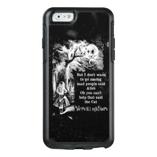 Alice in Wonderland; Cheshire Cat with Alice OtterBox iPhone 6/6s Case